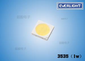 钱柜777娱乐_亿光高功率LED 3535(1W) 灯泡、面板灯专用LED灯珠
