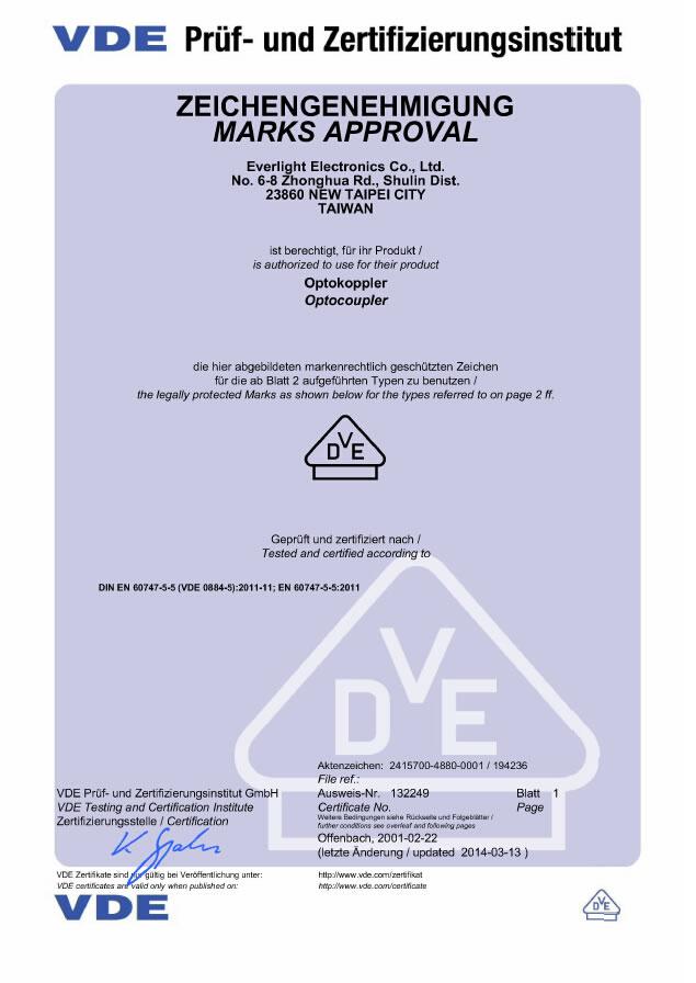 钱柜娱乐111_亿光VDE测试报告