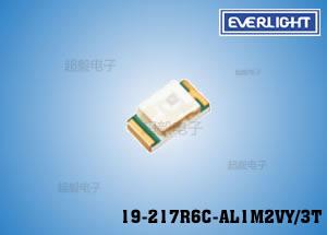 钱柜娱乐国际_亿光0603贴片LED19-217R6C-AL1M2VY/3T,专用于电表行业