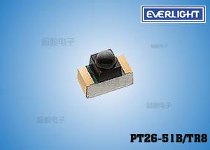 钱柜娱乐_亿光贴片红外线接收管 PT26-51B/TR8 玩具飞机专用接