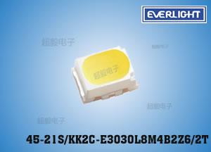 钱柜777娱乐_亿光3020灯珠0.2W日光灯管灯珠LED45-21S/KK2C-E3030L8M