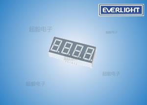 钱柜777娱乐_亿光四位8数码管,贴片LED数码管,数字读出显示专
