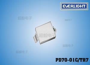 钱柜777娱乐_亿光PD70-01C/TR7 贴片红外线接收管 电梯专用接收管
