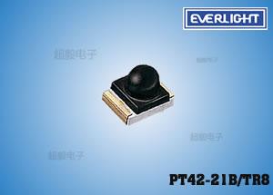 钱柜娱乐国际_PT42-21B/TR8,亿光接收管,贴片红外线接收管