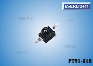 钱柜娱乐_PT91-21B,贴片接收管,亿光红外线接收管