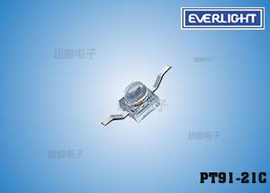 钱柜娱乐_计数器专用亿光贴片红外线接收管PT91-21C