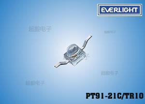 钱柜娱乐111_PT91-21C/TR10,小蝴蝶接收管,亿光贴片红外线接收管