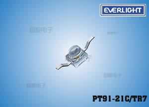 钱柜娱乐111_微型开关专用亿光红外线接收管PT91-21C/TR7