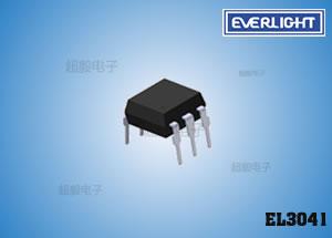 钱柜娱乐111_可控硅驱动光耦合器,亿光光耦EL3041,光控专用光耦