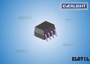钱柜777娱乐_亿光逻辑闸高速光耦 光耦EL071L PCB板专用光电耦合